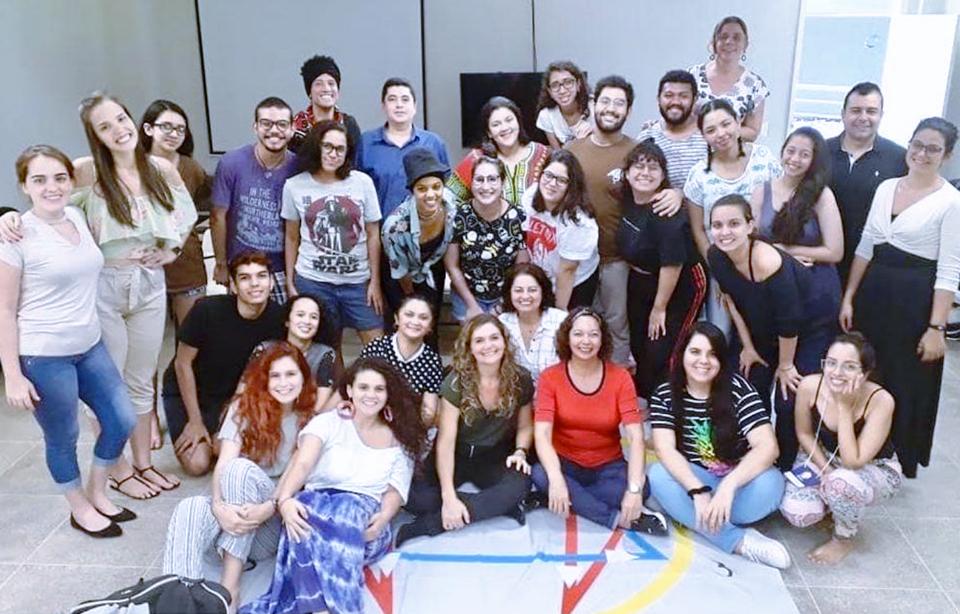 2a Etapa de Eneagrama no ICA - Instituto de Arte e Cultura da Universidade Federal do Ceará