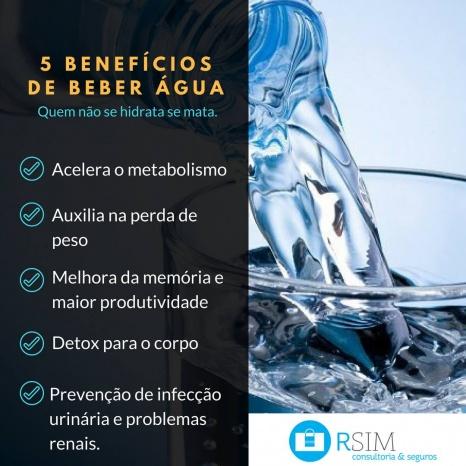 Benefícios da agua